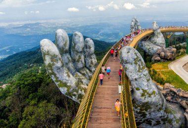 Ba Na Hill Golden Bridge