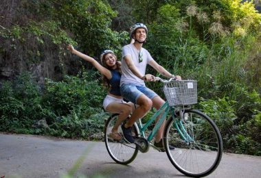 Bicycle On Viet Hai Village