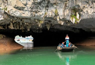 Dark Cave - Bright Cave in Lan Ha Bay