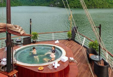 Relax On Sundeck of Orchid Cruise