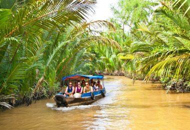 Ben Tre Mekong Delta - Boat Trip