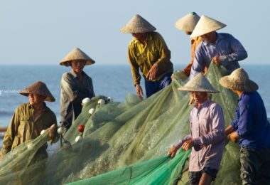 Fishing in Nam Dinh