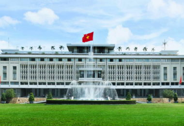 Independence Palace in Ho Chi Minh City C